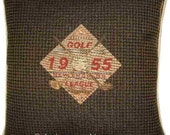 Golf Shield Tapestry Cushion Cover Sham