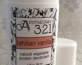 Vegan Natural Deodorant Tahitian Vanilla Scent