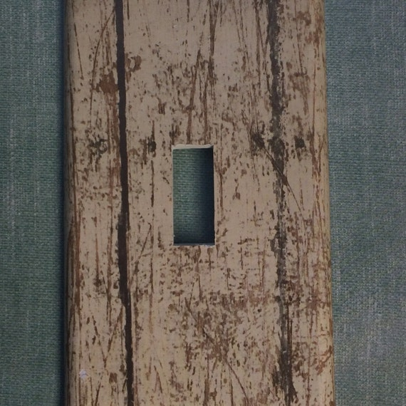 Barn Light Covers: Switchplate Outlet Cover Antique Woodgrain Wood Barn By