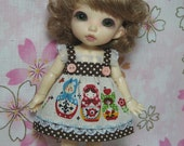 Russian Babushka Doll Dress for Pukifee / Lati Yellow