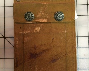 Distress-Painted Belt Pocket —Ready to Ship!