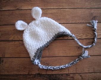 Baby Easter Hat, Baby Lamb Hat, Crochet Baby Hat, Newborn Easter Hat, Baby Boy Hat, Baby Spring Hat, Newborn Lamb Hat, Newborn Boy Hat,