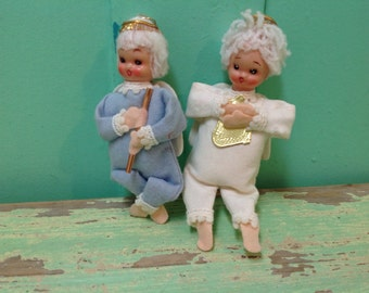 Sweet faced angel ornaments