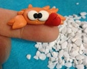 sweet little crab (No 1) - A Little Polymer Clay Creation