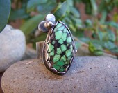 40% OFF ON SALE Dainty Turquoise and Sterling Silver Ring