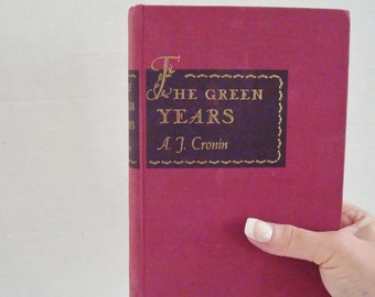 Vintage Book The Green Years by A. J. Cronin