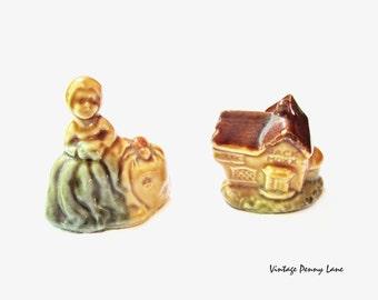 Vintage Wade Porcelain Figurine Lot