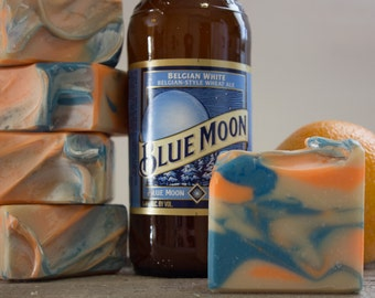 Blue Moon Citrus Grove | Beer Soap | Made with Blue Moon Beer | Gifts for Men | Fatty's Soap Co.