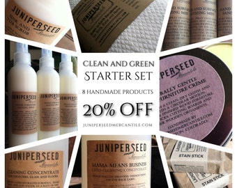 Green and Clean - 20 Percent Discount on Safe and Natural Cleaning Products - Everything You Need to Green Your Routine