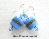 Periwinkle Blue Dangle Ea...