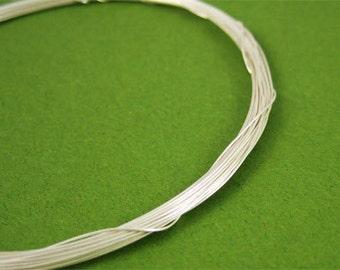 Sale 10 ft 28g Sterling Silver Round Wire Half Hard