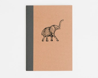 Mini Elephant Notebook