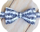 Sheet Music Bow Tie >> Self Tie Freestyle Pre-tied Mens Boys Baby Graduation Gift Birthday Show Party Groomsmen Father Son Musician Teacher