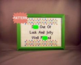 PDF/JPEG Sh-t Out Of Luck And Jolly Well F-cked - George Carlin (Pattern)