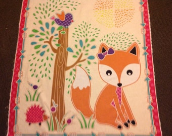 Fox in the Forest Quilt