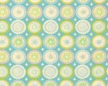 Cotton Quilting fabric | Lalit Blue Kumari Garden | Dena Designs for Moda