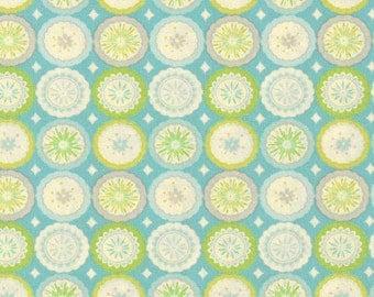 Cotton Quilting fabric | Lalit Blue Kumari Garden