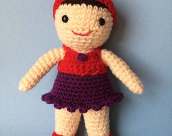 LITTLE DOLLY PDF Crochet Pattern