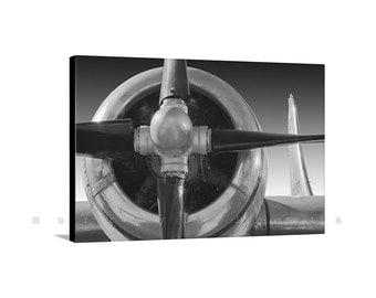 Aviation Art, Photo on Canvas, Plane Photo, Canvas Airplane Art, Aeronautical Art, Aircraft Print, Pilot Gift, Boeing, Superfortress