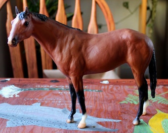Breyer 1997 JCPenney Special Run bay Secretariat antique toy pony for custom bait