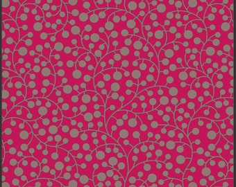 Modernology Mod Vines in Raspberry MO-3810 - Art Gallery Pat Bravo - Available in Yards, Half Yards and Fat Quarters