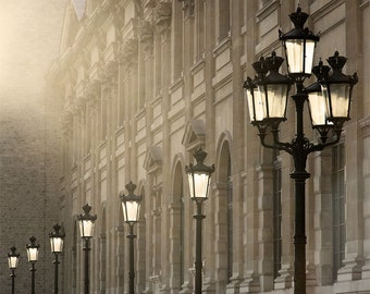 "Paris Photography, ""Last Light"" Paris Print Extra Large Wall Art Prints, Paris Wall Decor"