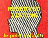 Reserved Listing for CDALAL