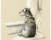 Waiting - Giclee  Archival Print