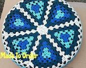 Granny Triangle Crochet Spare Tire Cover