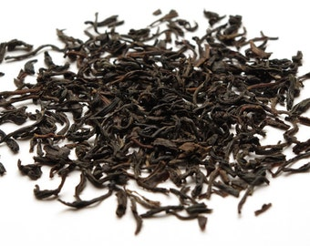 Organic Lapsang Souchong tea- 50 cups Black tea smoked with spruce