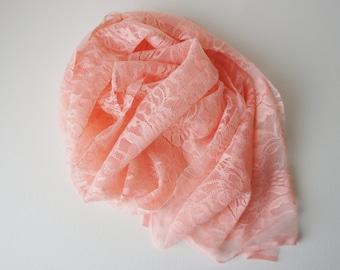 SALE Newborn Lace Layer, Newborn Photo Prop, Floral Lace Baby Layer, Stretch Lace Layer, Newborn Layering Fabric, Baby Posing Fabric, RTS