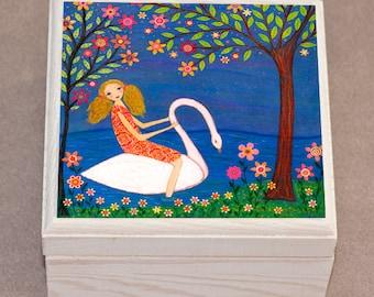 Swan Princess Jewelry Box