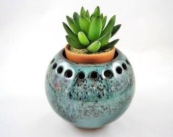 Indoor garden, MINI planter, cactus bowl, small decorative vase,small planter - IN stock - Cube3