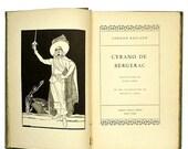 CYRANO De Bergerac Art Deco 1930s . vintage book . antique book