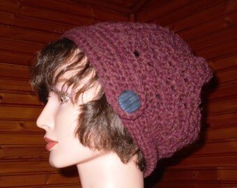 Side Tab Slouch Hat Chestnut