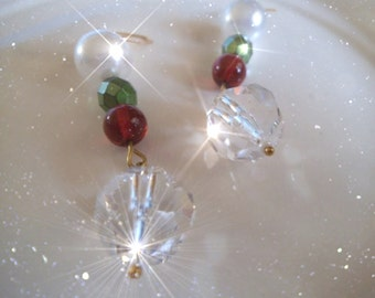 HOLIDAY SPARKLE Earrings. Free Shipping