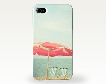 Beach Phone Case for iPhone 4/4s, 5/5S, 5c, 6, 6 Plus and Samsung Galaxy S3, S4 - Deserted Beach