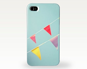 Bunting Flag Phone Case for iPhone 4/4s, 5/5s, 5c, 6, 6 Plus and Samsung Galaxy S3, S4 - A Celebration