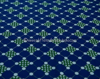 Mod Geometric - New Old Stock  Vintage Fabric 60s 70s Dots Squares Shapes