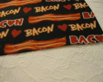 500+ Scarf Print Selection! Only at SylMarCreations!  Last One * Been Bacon * Bacon Lover Delight * Winter Fleece Scarf * Got Bacon