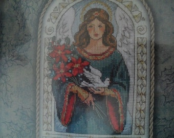 CountedCross Stitch Gold Nuggets Angel of Peace Dimensions Kit