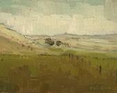 Boulder Ranch | Original Oil Painting |  5 x 7