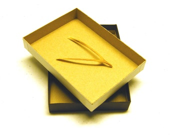 15 Brown Kraft Presentation Boxes 4 x 6 x 1 (inches)