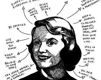 What Sylvia Plath Taught Me Archival Print
