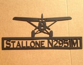 Prop Plane with Custom Text (H21)