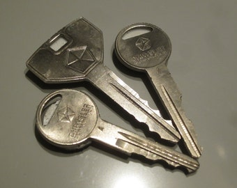 Chrysler Key Magnets