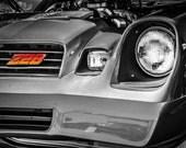 Chevrolet Camaro Z28 Front End Fine Art Print- Car Art, Antique Car, Home Decor, Nursery Decor, Wall Art, Vintage Car