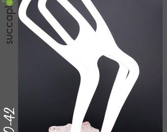 SIZE-L (pair) -Succaplokki- Knitting Sock Blocker, Durable splinter free pair of sock blockers made out left over plastic from industry