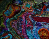 RESERVED---the undersea world --ode to jacques cousteau----a snuggle afghan