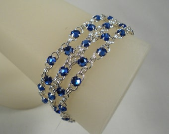 More Colors - Swarovski Crystal Brick Bracelet